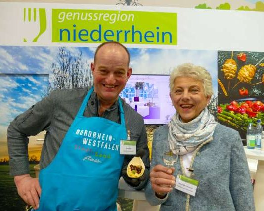 Grüne Woche Berlin Daniela Böckenhoff und Arno Rüb