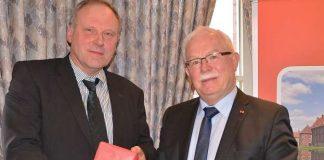 Neuer Raesfelder CDU Fraktionsvorsitzender Bernhad Bölker (l.) und Karl-Heinz-Tünte
