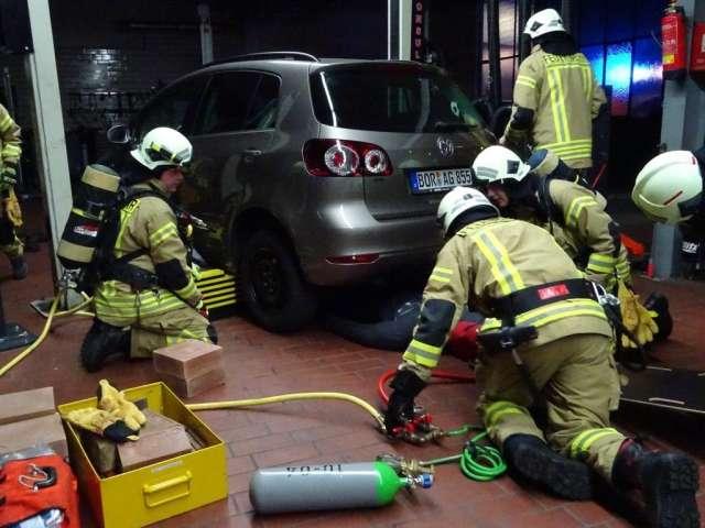 Feuerwehr Raesfeld menschenrettung