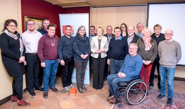 Stroke Unit + Grundrente - Treffen der SPD-Ortsvereinsvorsitzenden im Kreis Borken