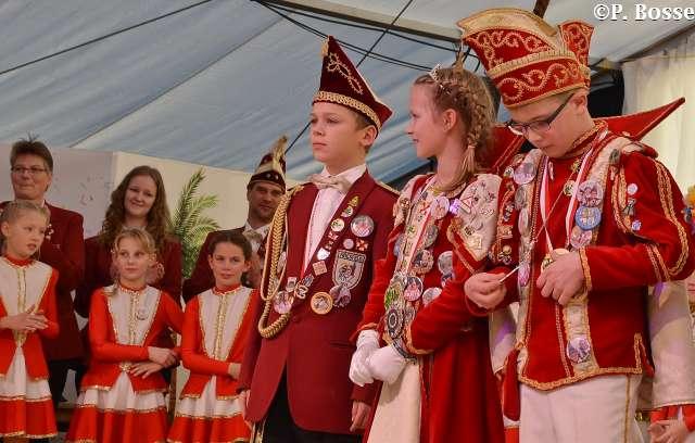 Super Stimmung beim Kinderkarneval des RRZ am Sonntag im Raesfelder Festzelt 2019