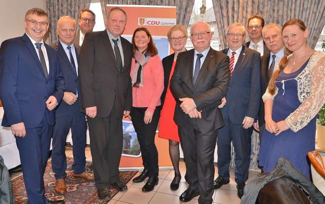 CDU Raesfeld Bernhard Bölker ist neuer Fraktionsvorsitzender