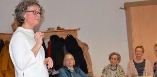 Ilona Bussen bei der kfd Raesfeld 2019