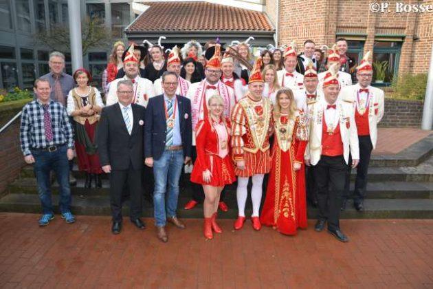 Altweiber und Rathaussturm Raesfeld 2019