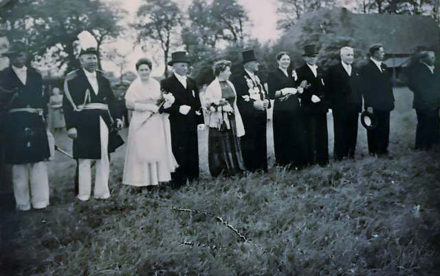 Schützenfest erle 1957