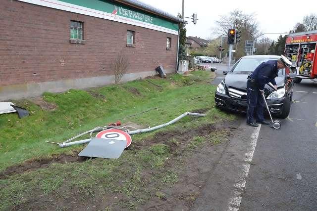 Unfall Erle kreuzung Schermbecker Strasse B 224