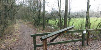Vandalismus im Naturschutzgebiet Fürstenkuhle bei Hochmoor