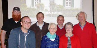 Vorstand des Heimatvereins Erle