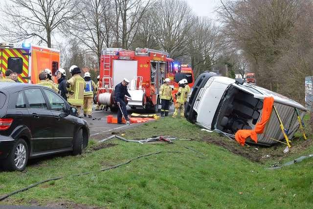 Unfall Erle kreuzung Schermbecker Strasse B 224 (