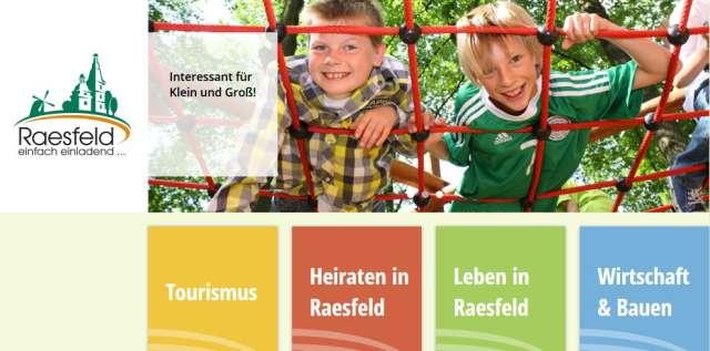 Homepage Gemeinde Raesfeld