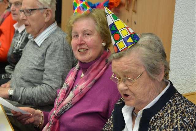 Karneval Seniorengemeinschaft Raesfeld 2019