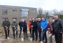 Spatenstich neuer Kindergarten Raesfeld