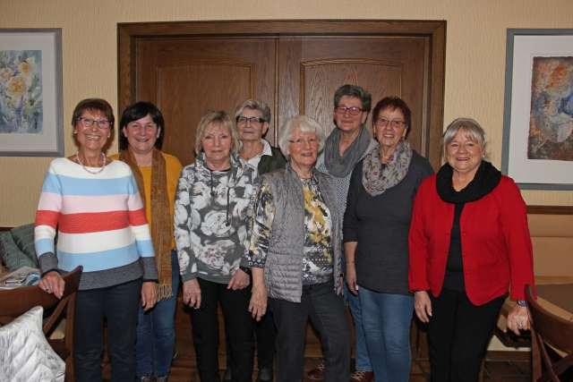 Raesfelder Frauenchor Vorstand 2019