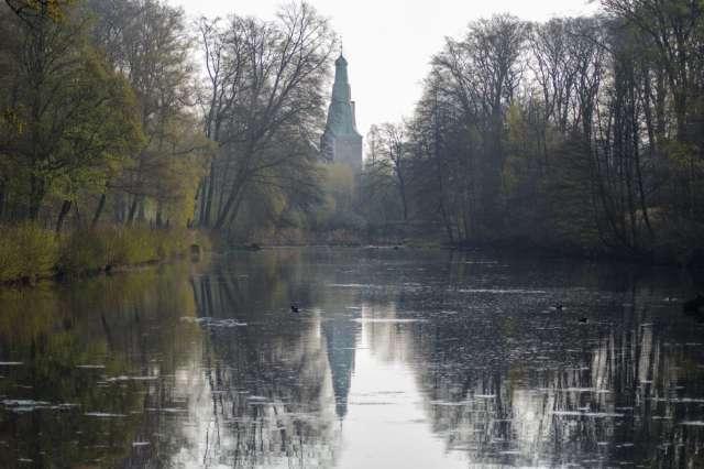 Naturpark Hohe Mark Schloss Raesfeld Tiergarten
