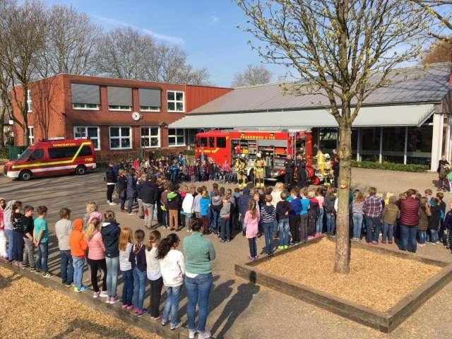 Übung Feuerwehr Raesfeld