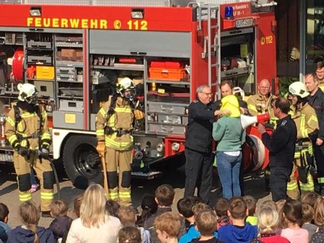 Übungstag Feuerwehr Raesfeld