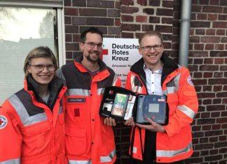 Defibrillator Bürgerstiftung Raesfeld und DRK