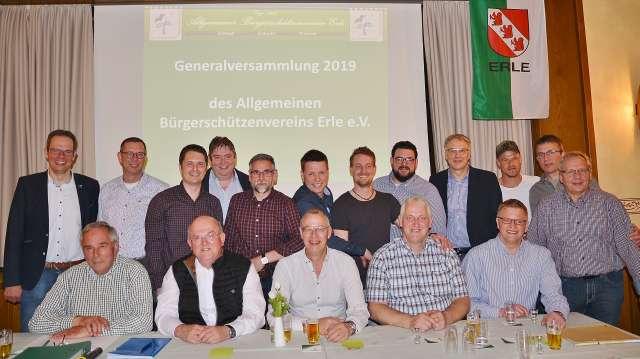 Generalversammlung Erler Schützen