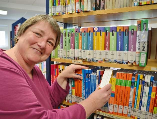 Büchereileiterin Raesfeld Jutta Weber