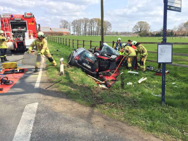 Unfall Raesfeld Dorstener Postweg