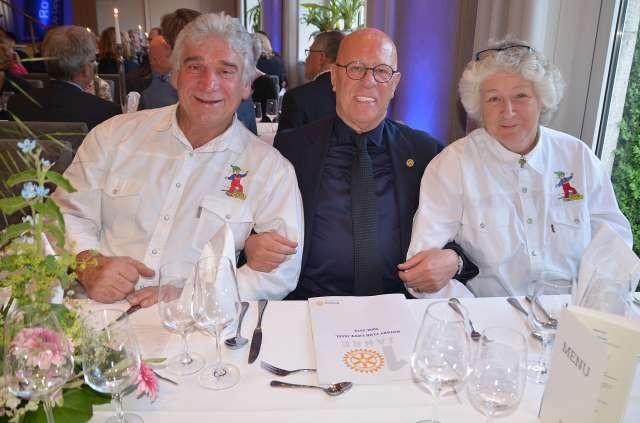 Helmut Ackmann unterstütz Gagu Zwergenhilfe Schermbeck