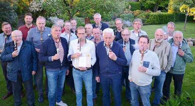 Pipe schmöken Könige Raesfeld 2019