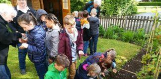 Erler Silvesterschüler leisten Beitrag für den Umwelt- und Naturschutz