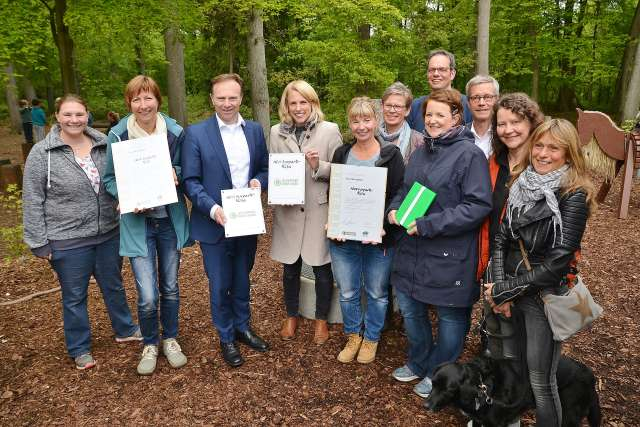 Naturpark Kita Raesfeld wurde ausgezeichnet