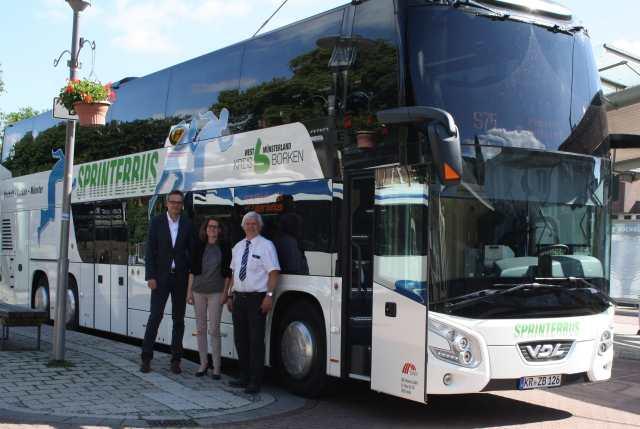 Neue Sprinterbusse Borken Münster