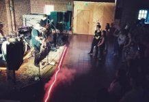 Punk im Keller im Jugendhaus Raesfeld