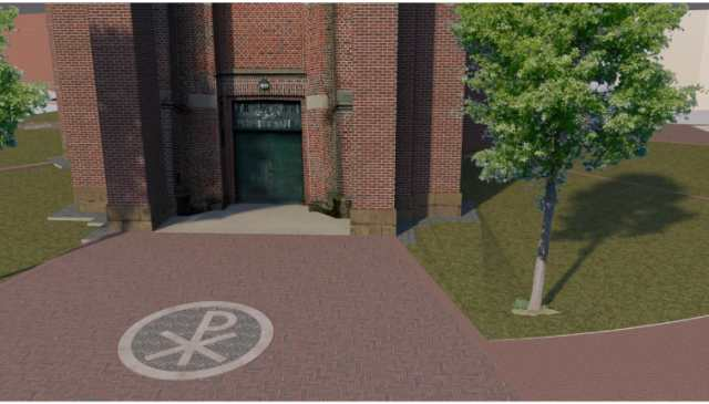 Neugestaltung Kirchplatz Erle