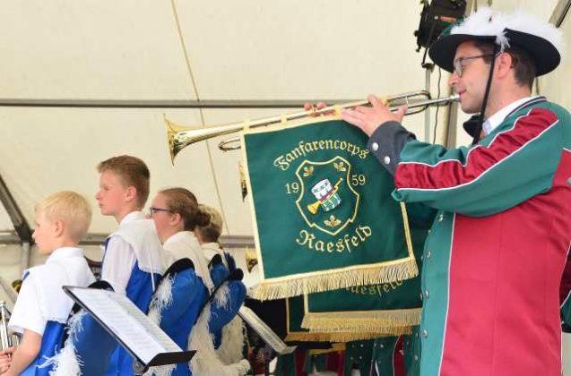 Jubiläum 60 Jahre Fanfarencorps Raesfeld