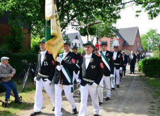 Vorparade Erler Schützenverein 2019