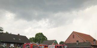 Blitzeinschlag Raesfeld