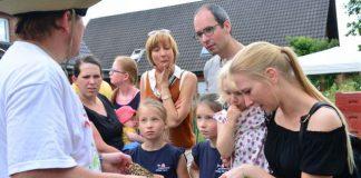 100 Jahre Imker Raesfeld im Garten von Löchteken (