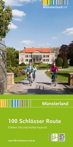 Praktisch und informativ: Das Begleitheft zur 100 Schlösser Route  (Copyright: Münsterland e.V.)