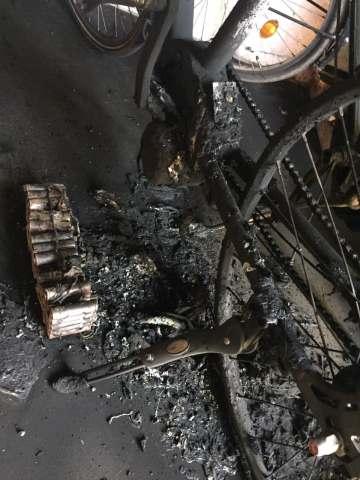Fahrradbrand Raesfeld