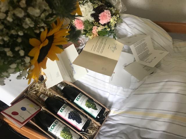 Hundertjähriger Geburtstag Raesfeld Anna Bosse