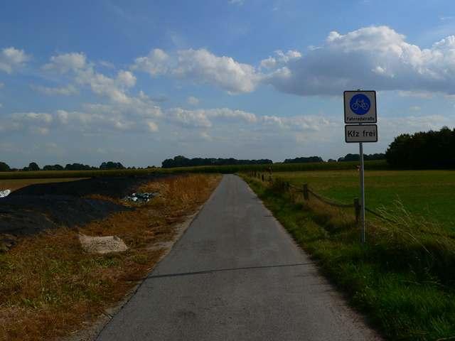 Fahrradstraße-Raesfeld-Erle