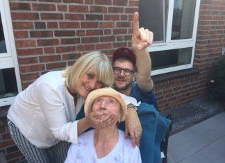 Hundert jähriger Geburtstag Raesfeld Anna Bosse