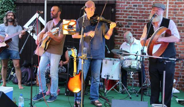 Potbelly Band im Spargelhaus Erle