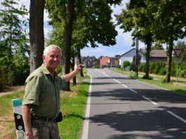 Ulrich Grunewald genervt durch Motorradlärm in Erle