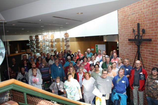 Rund 60 Mitglieder von Beiräten hiesiger Einrichtungen der Behindertenhilfe sowie deren Vertrauenspersonen kamen im Borkener Kreishaus zusammen.