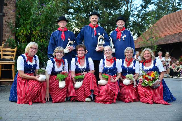 Trachtenschützenfest Uefte-Overbeck Schermbeck 2019