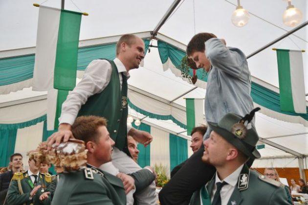 Vogelstange Junggesellenschützenfest Raesfeld 2019_Foto Petra Bosse