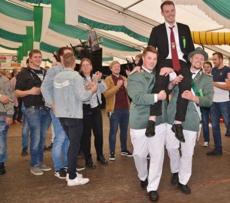 Vogelstange Junggesellenschützenfest Raesfeld 2019