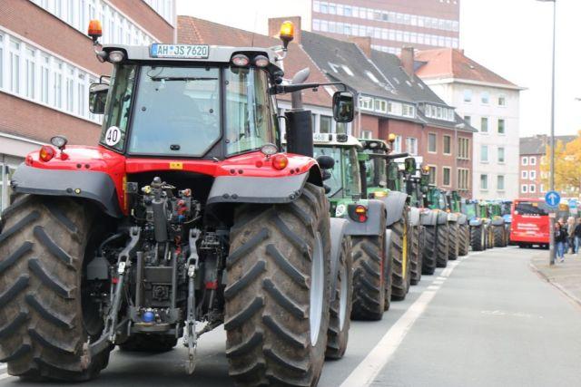 Bauerndemo Münster Bonn 2019
