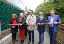 Neuer Radweg in Borken an der Aa eröffnet