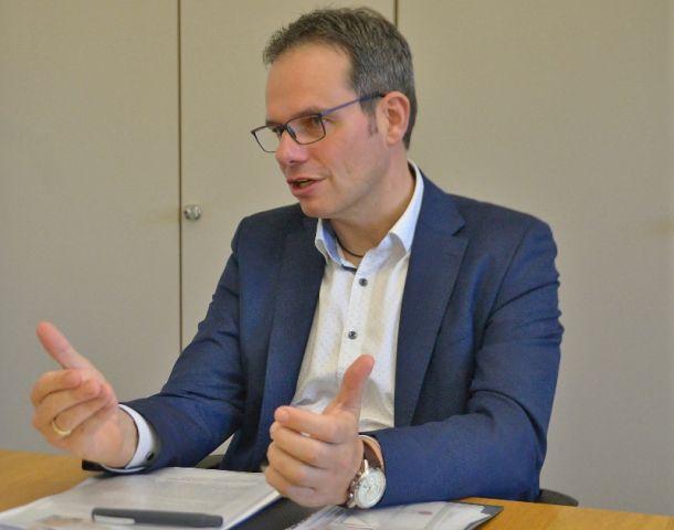 Raesfelder Bürgermeister Andreas Grotendorst
