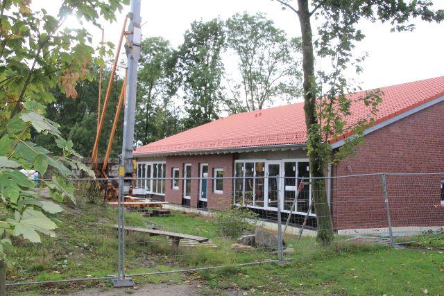 Richtfest Kindergarten St. Nikolaus Erle